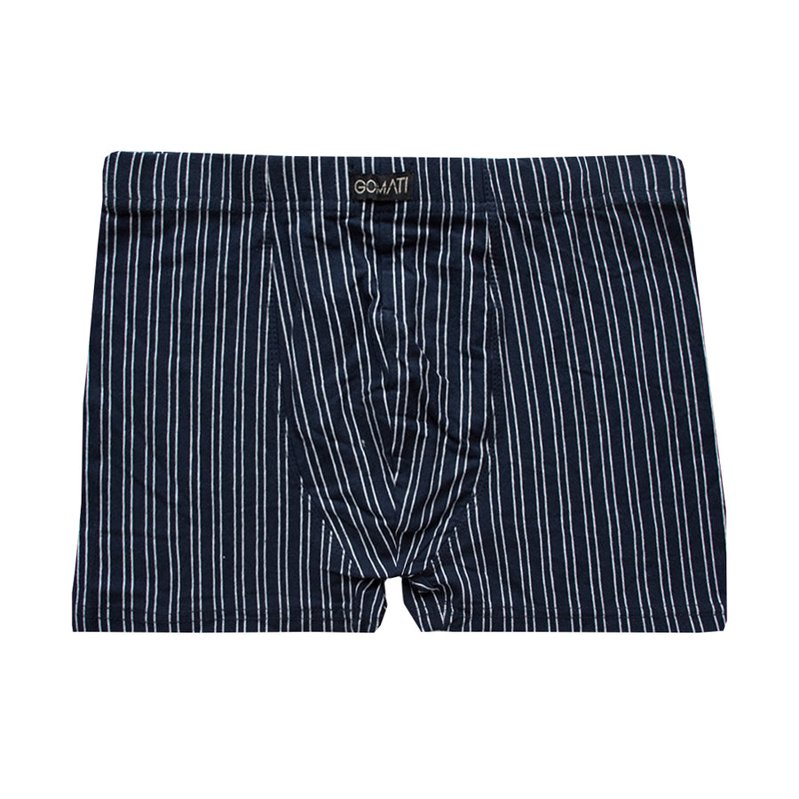 Vertical Striped Boxer Shorts
