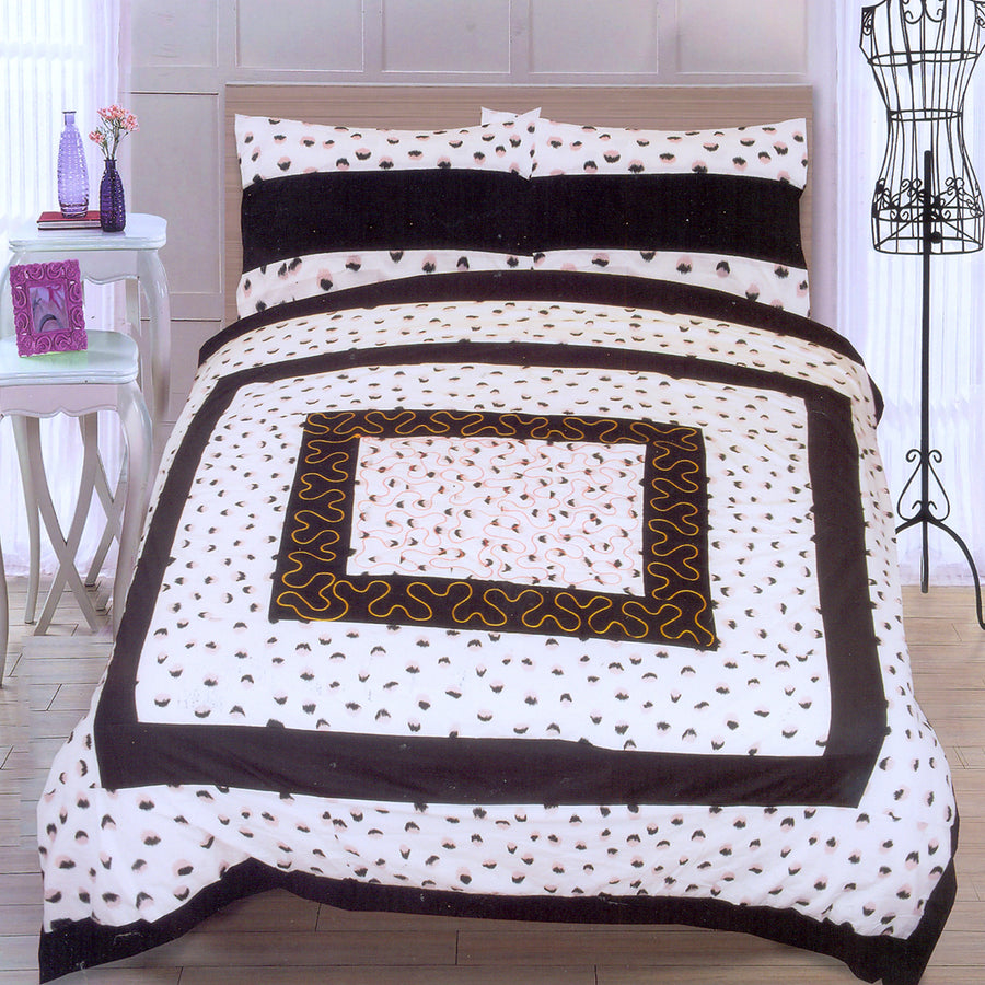 Funky's Eclipse Center Patched Bed Sheet