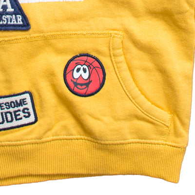 Kid's State Champs Yellow Hoodie - Deeds.pk