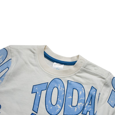 Baby Club Today & Yesterday Printed Sweat Shirt ( 3 MONTHS TO 18 MONTHS ) - Deeds.pk