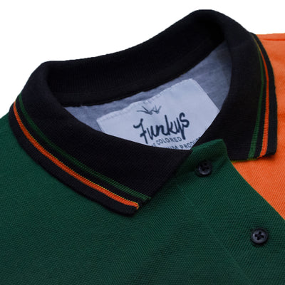 Funkys ITALY Reverse Contrast Polo Shirt