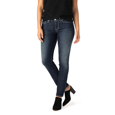 Women Modern Skinny fit Navy Denim (WAIST 30 TO 38)