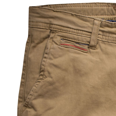 Biaggio Slim Fit Golden Brown Chino - Deeds.pk