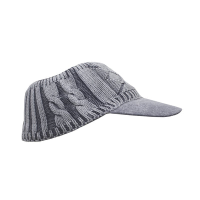 Warm Topless Visor Cap - Deeds.pk