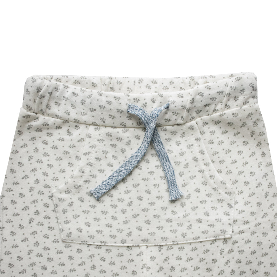 Zara Baby Girl Leaf Print Trousers