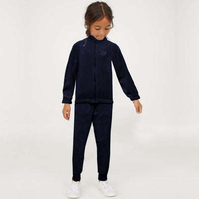 ZR Girls Dark Blue Velvet Suit ( 5 YEARS TO 14 YEARS )