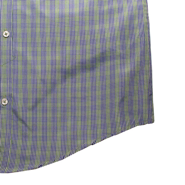American Eagle Green & Blue Checkered Casual Shirt - Deeds.pk