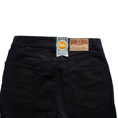 Dressmann Easy Fit Black Denim - Deeds.pk