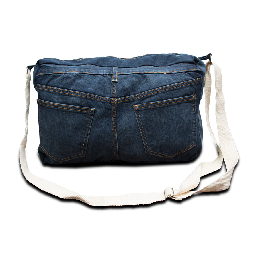 Funkys U.S Denim Bag - Deeds.pk