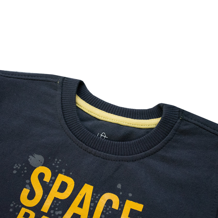 Essentials Space Patrol Sweat Shirt ( 3 MONTHS TO 24 MONTHS )