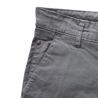 Ritchie Slim Fit Space Grey Chino - Deeds.pk