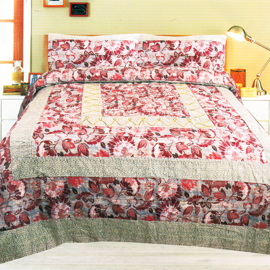 Funky's Vintage Center Patched Bed Sheet