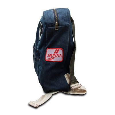 Funkys Admiral Blue Denim Bag - Deeds.pk