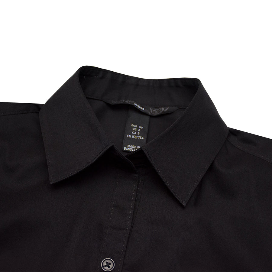 HNDM Black Casual Shirt