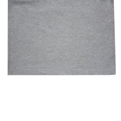 Printed Grey Slub T-Shirt