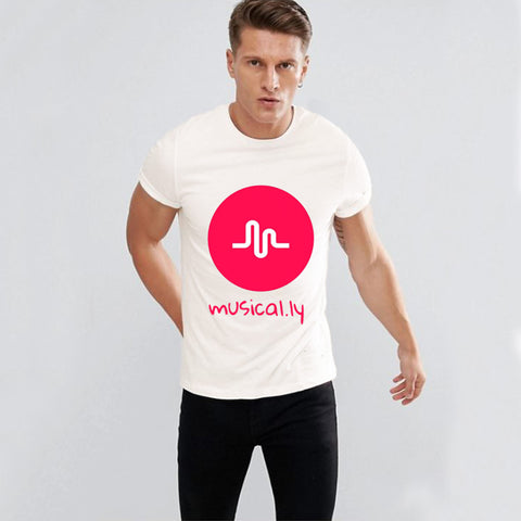 Funky's Musical.ly Printed T-Shirt