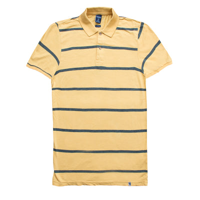 Springfield Green Stripe Slim Fit Polo - Deeds.pk