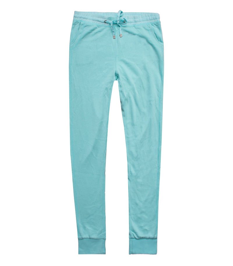 Women Bershka Mint Green Jogger Pants - Deeds.pk