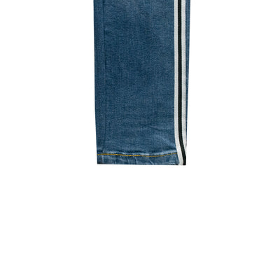 ASPTLE Light Blue Side Striped Skinny Fit Denim - Deeds.pk