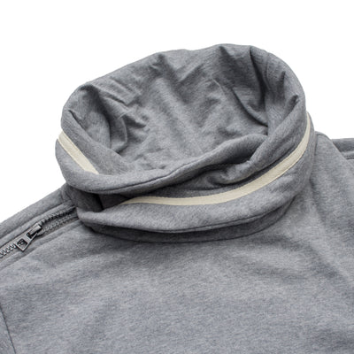 Tom Tailor Ghost Grey Fall Neck Sweat Shirt - Deeds.pk