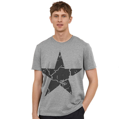 Funkys Grunged Star T-Shirt