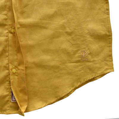 Datch Yellow Long Sleeves Casual Shirt - Deeds.pk