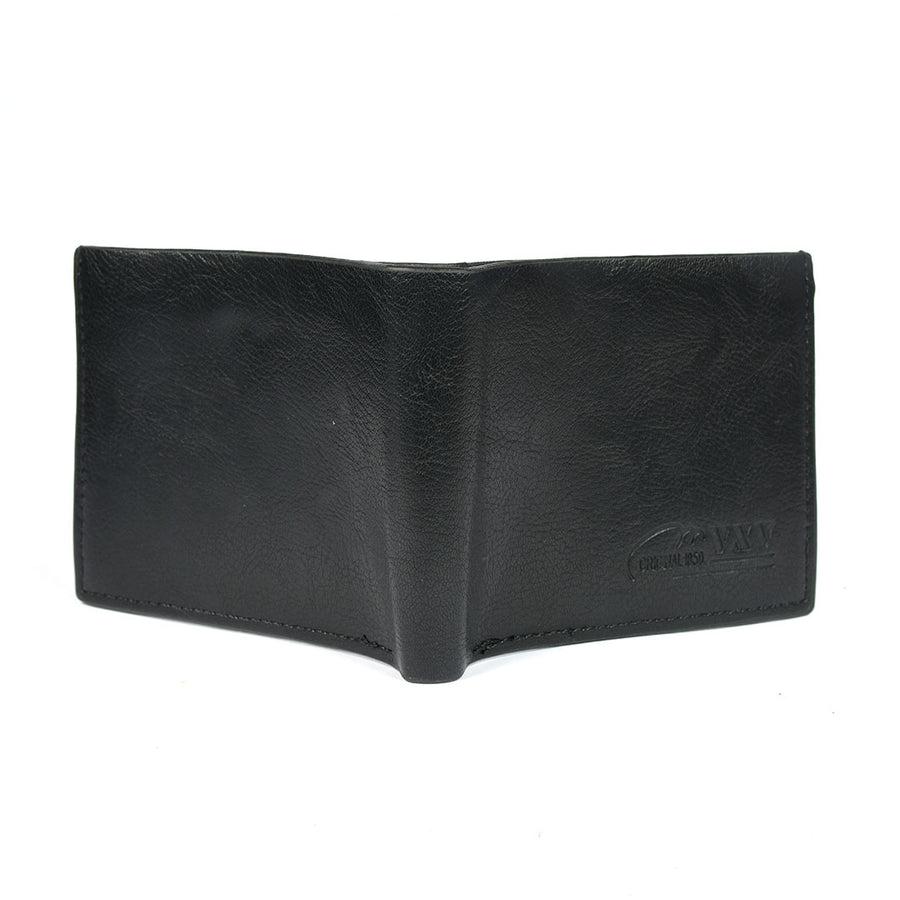 Men Black Texture pattern Wallet