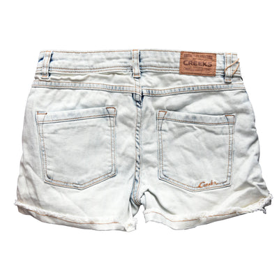 Girls Creeks Ash White B-Quality Shorts - Deeds.pk