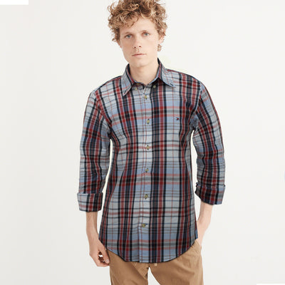 Tommy Hilfiger Button Down Checkered Casual shirt - Deeds.pk