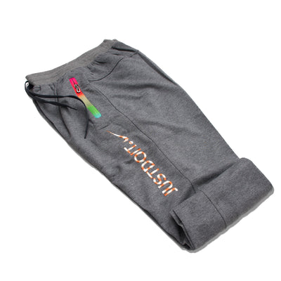 Nike Dark Grey JUST DO  IT Trouser - Deeds.pk