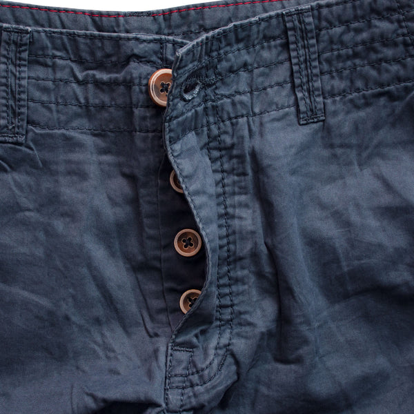 EDC Pure Cotton Navy 6 Pocket Short - Deeds.pk
