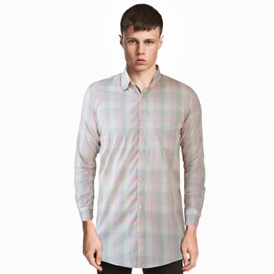 Basefield Comingle Checkered Long Sleeves Casual Shirt - Deeds.pk