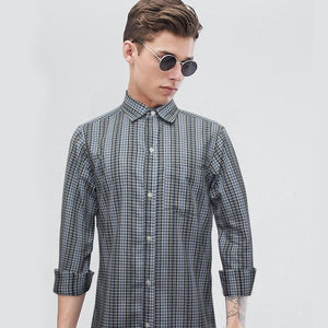 Funkys Vertical Checkered Casual Shirt