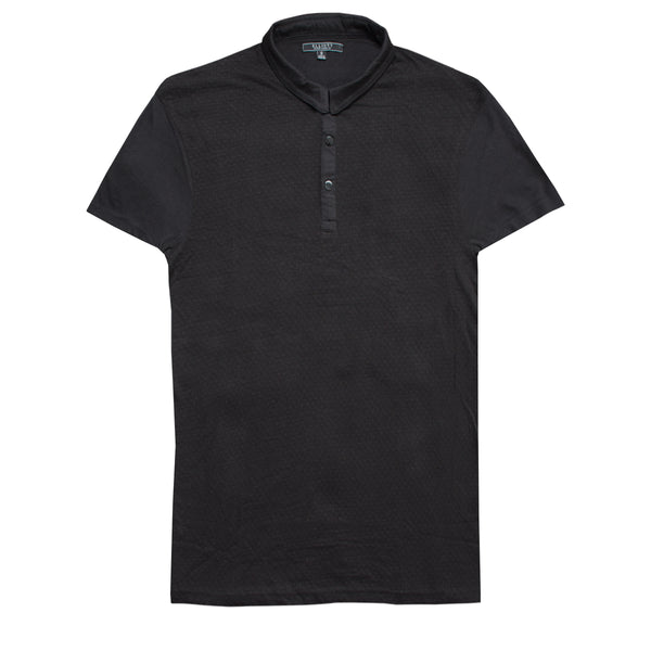 Elliott Black Short Sleeves Polo Shirt - Deeds.pk