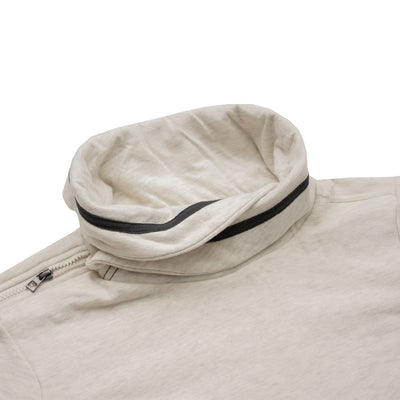 Tom Tailor Off White Fall Neck Sweat Shirt - Deeds.pk