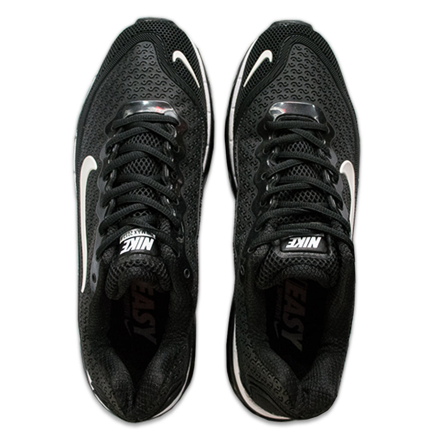 Air Max Jet Black Premium Shoes - Deeds.pk