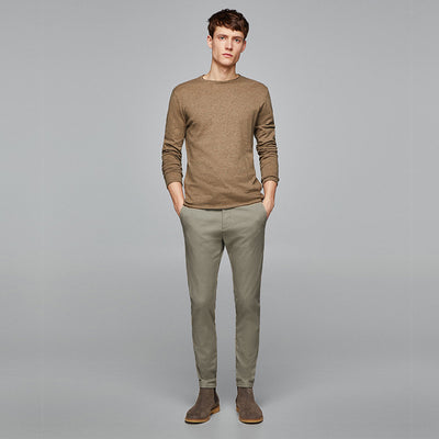 Classic Skinny Fit Chino Pants