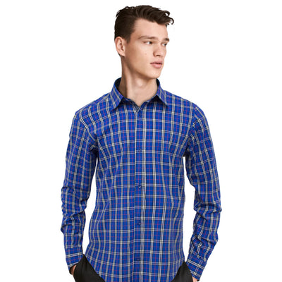 Funkys  Checkered Long Sleeves Casual shirt