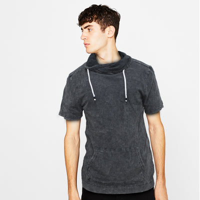 AR Asphalt Fall Neck T-Shirt - Deeds.pk