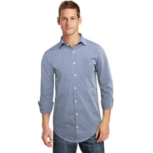 Burton Micro Checkered Semi Formal Shirt - Deeds.pk