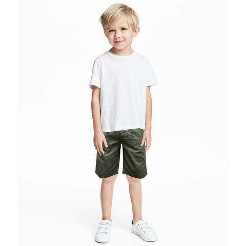 Kids Gap Olive Shorts - Deeds.pk