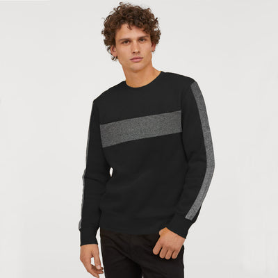 PNB Charcoal Panel Sweat Shirt