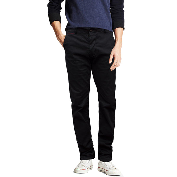 Biaggio Slim Fit Black Chino - Deeds.pk