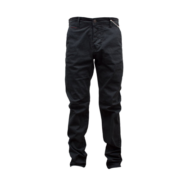 Biaggio Slim Fit Charcoal Chino - Deeds.pk