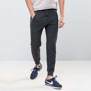 Pull & Bear Gripped Bottom Charcoal Jogger pants - Deeds.pk
