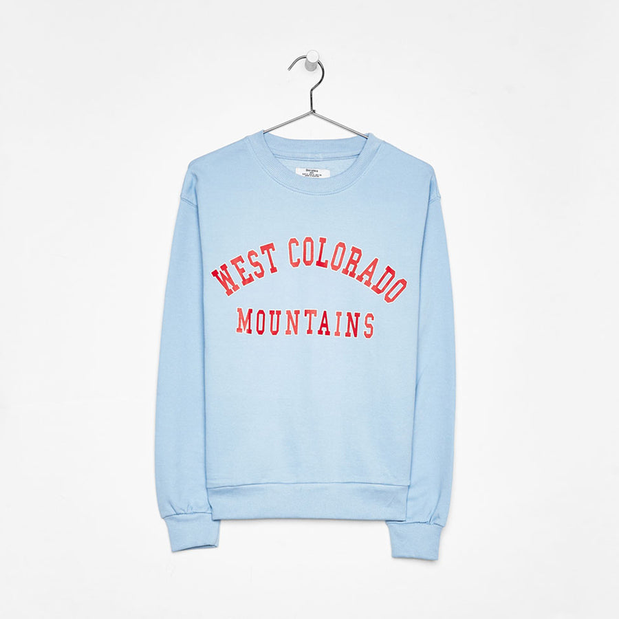 Bershka West Colorado Printed Sweatshirt - Deeds.pk