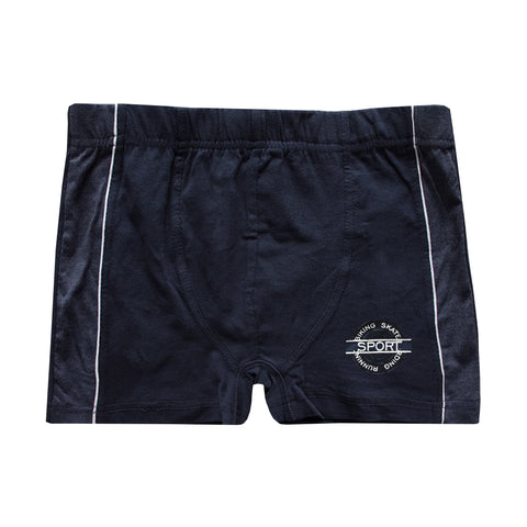 Biking Skate Dark Navy Sports Boxer Shorts