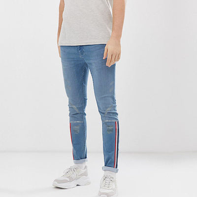 Medoox Slim Pattern Authentic Jeans