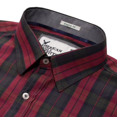American Eagle Red Checkered Casual Shirt - Deeds.pk