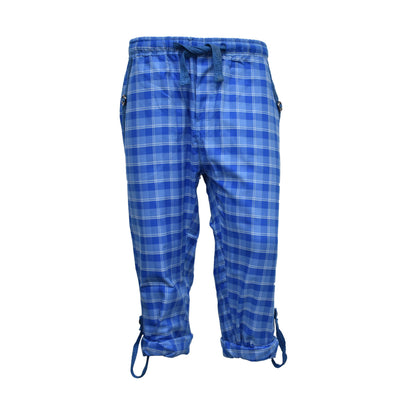 Old Navy True Blue Square Check Trouser - Deeds.pk
